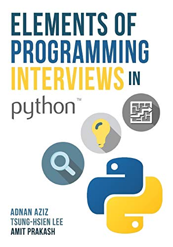 download free Elements of Programming Interviews in Python