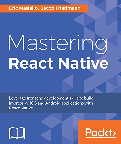 download free Mastering React Native ebook PDF: text, images